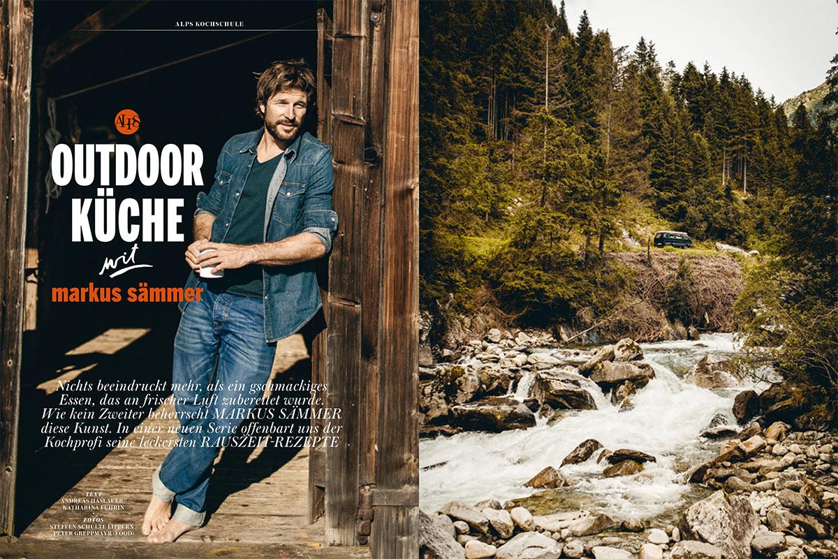 Markus Sämmer Outdoor-Küche Rauszeit-Rezepte