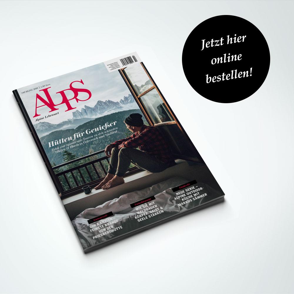 ALPS #37 Cover // FRÜHJAHR 2018