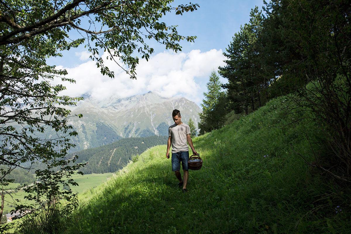 Vier echte Tiroler Naturburschen