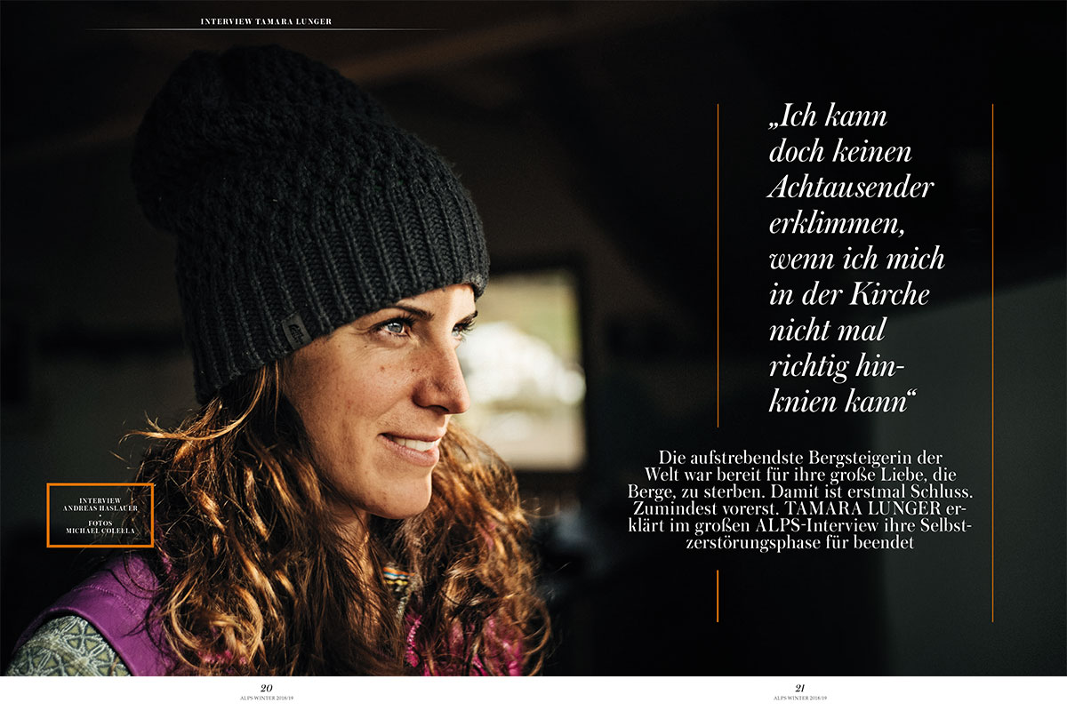 ALPS 40 Winter Tamara Lunger Interview