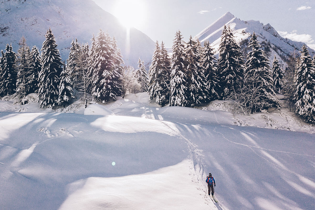 Club Med Les Arcs Panorama. Pistenzugang auf 1.600m Höhe zum Skigebiet Paradieski