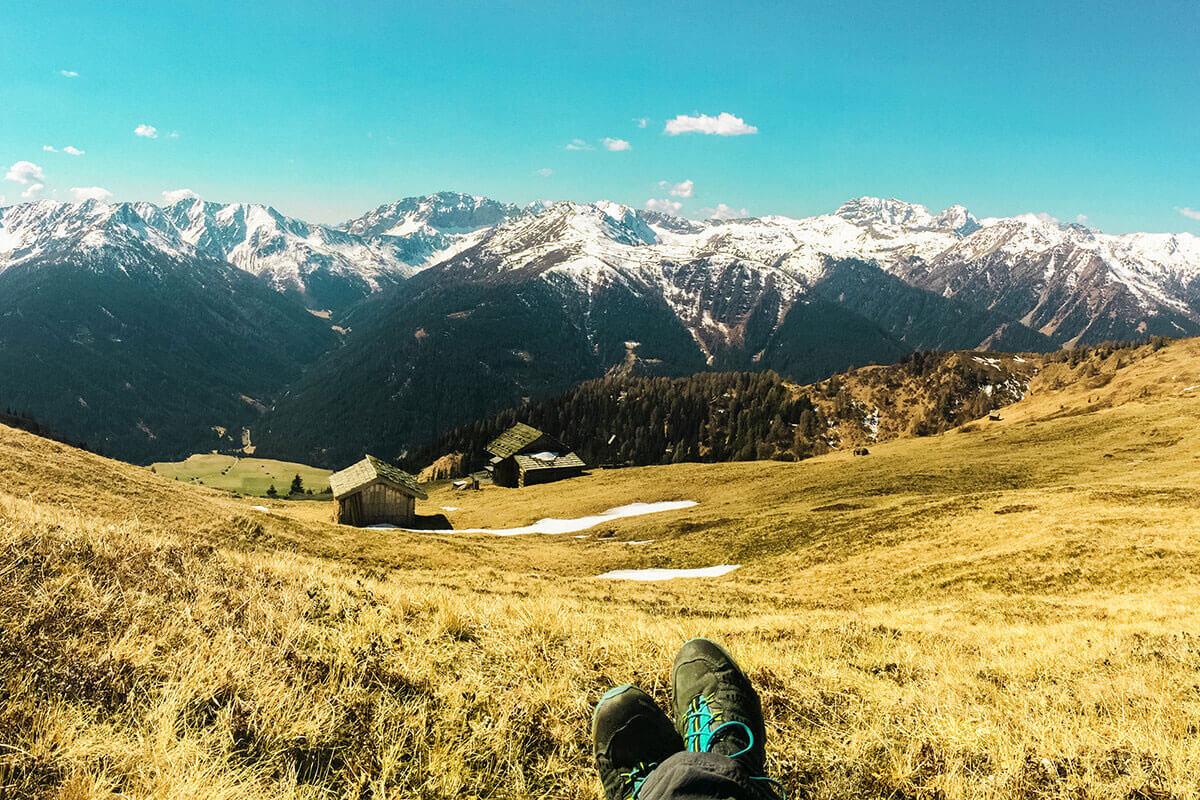 Der Golzentipp – was ist das?. Golzentipp Blick Karnische Alpen