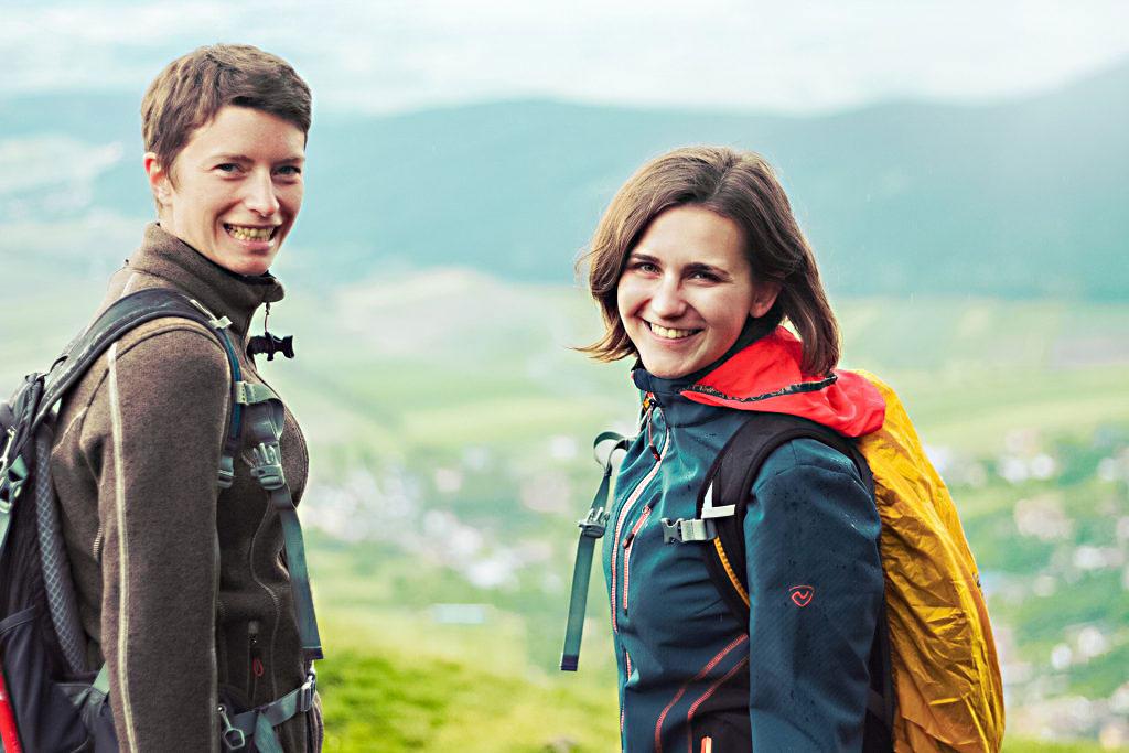 Wanderlust.cc Videoblog Theresa und Julia