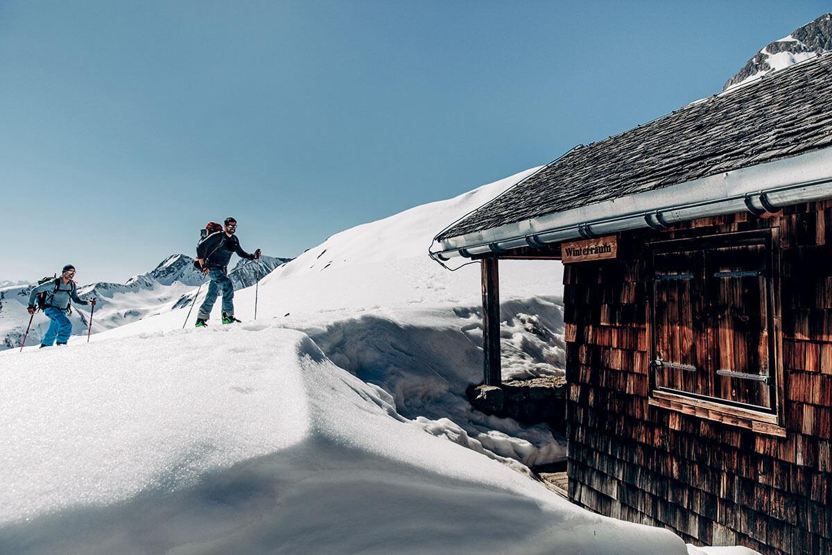 Wie anno dazumal: Der Winterraum des Hermann-von-Barth-Hauses ist eine antike Schönheit