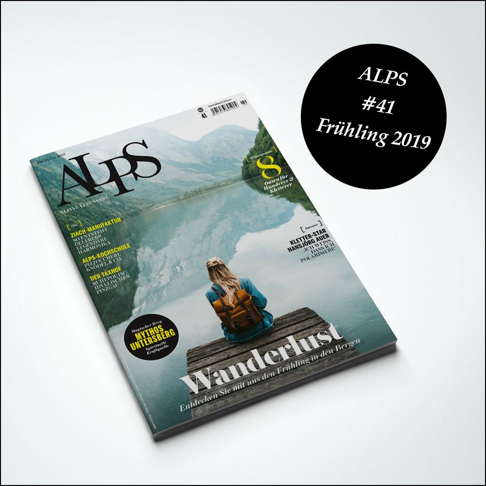 ALPS 41 Frühling Cover