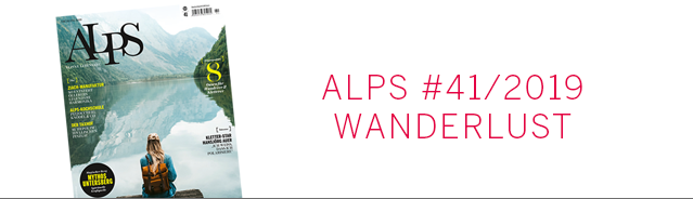 Alps Magazin Cover / Wanderlust
