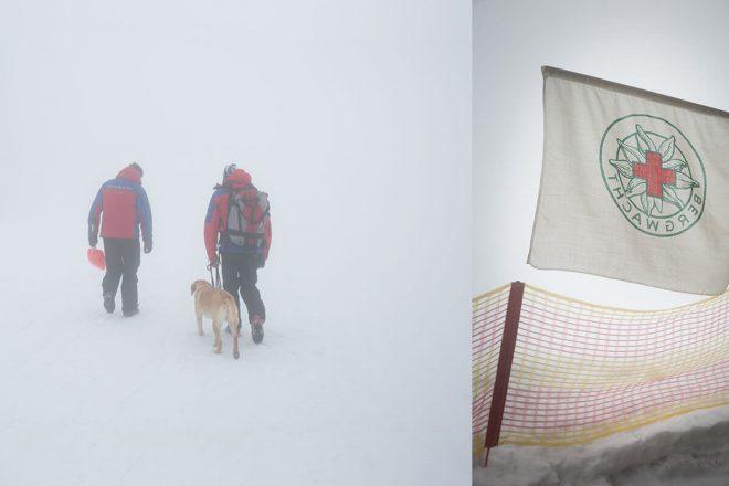 Bergwacht Hausham – Retter bei Wind und Wetter. Aufmerksam: In Oberbayern am Sudelfeld setzt die Bergwacht von Hausham auf modernste Technik – und die Spürnase von Lawinenhund Xaver