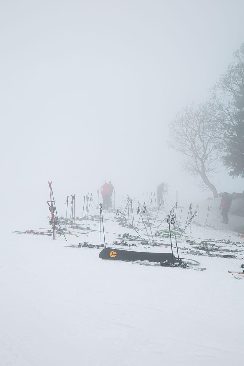"""Keine """"Schönwetter-Skiwachtler"""": Bei schlechtem Wetter werden die ehrenamtlichen Retter besonders gebraucht"""