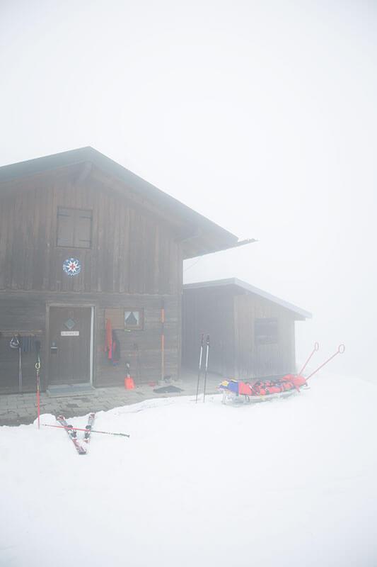Zweites Zuhause: Jedes Wochenende verbringt eine Gruppe der Bergwacht Hausham ihr Wochenende auf der Diensthütte