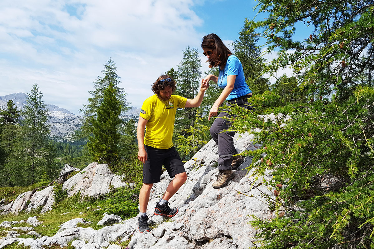 Schritt für Schritt: Einführung ins Bergwandern.