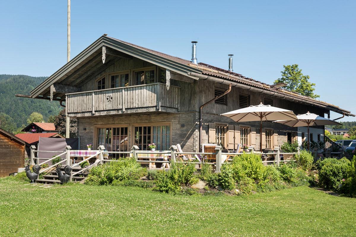 Alm-Chalet des Relais Chalet Wilhelmy: Romantische Alm am Tegernsee