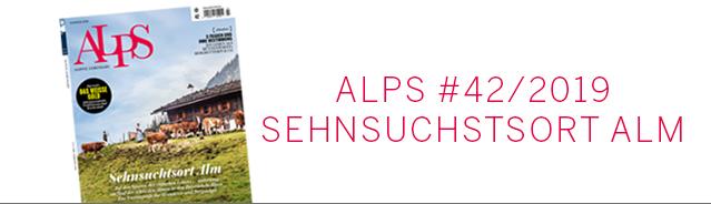 Alps Magazin Cover / Sehnsuchtsort Alm