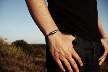 Robustes Bergseil-Armband der Bergschmuck-Marke Fjella