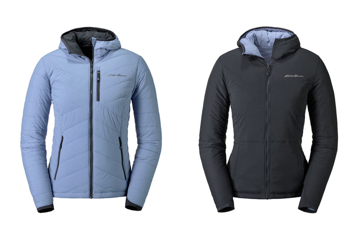 Ignitelite Stretch Reversible Hooded Jacket - Damen