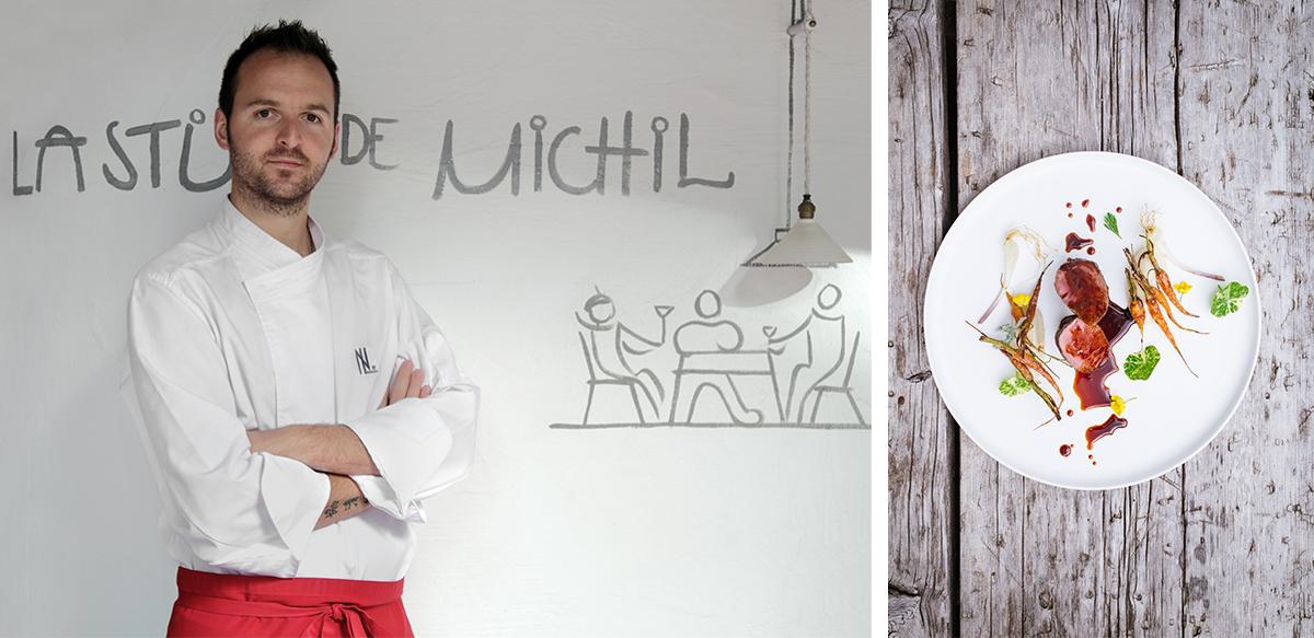 Küchenchef Nicola Laera, leidenschaftlicher Vollblut-Koch mit ladinischen und apulischen Wurzeln