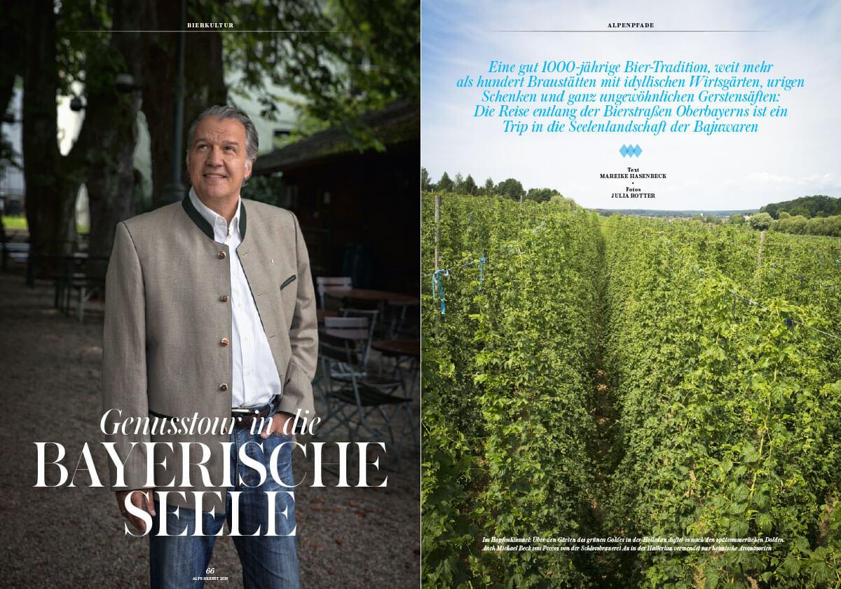 Alps Magazin #43 Bierkultur Oberbayern