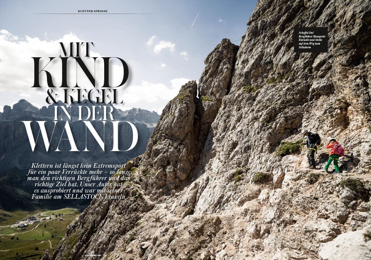 Alps Magazin #43 Dolomiten klettern Sella