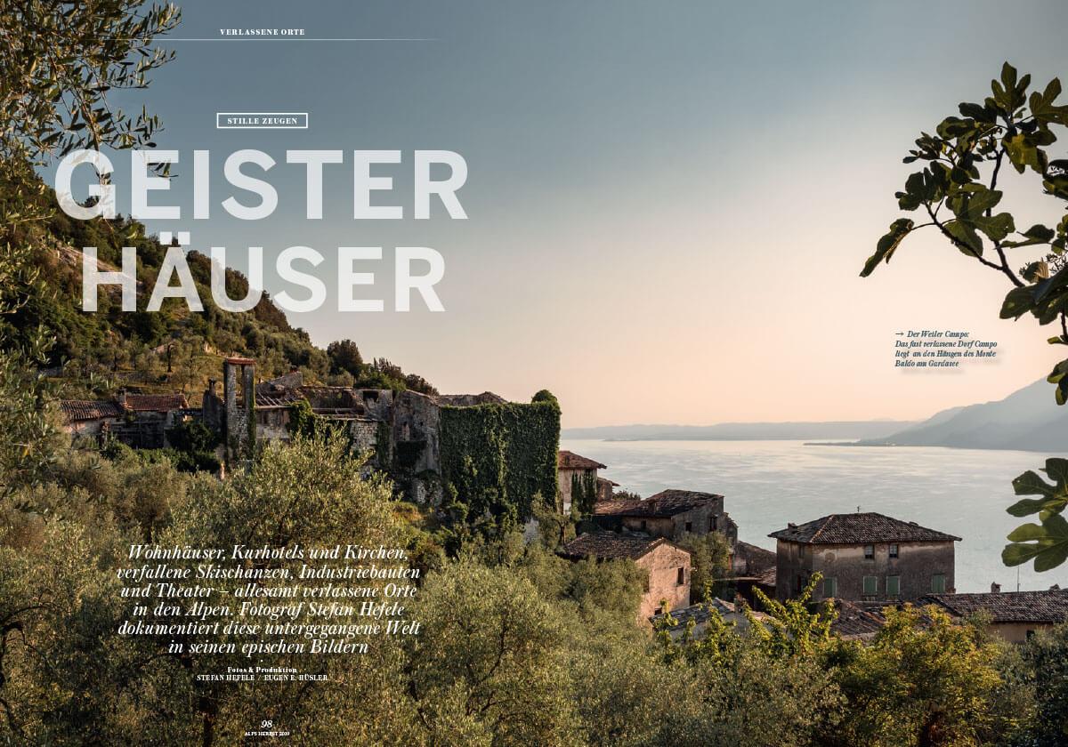 Alps Magazin #43 Verlassene Orte Geisterhäuser Lost Places
