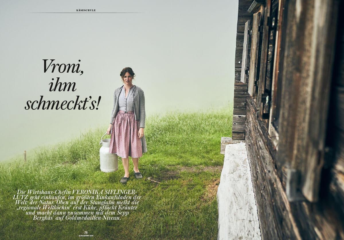 Alps Magazin #43 Vronis hohe Küche