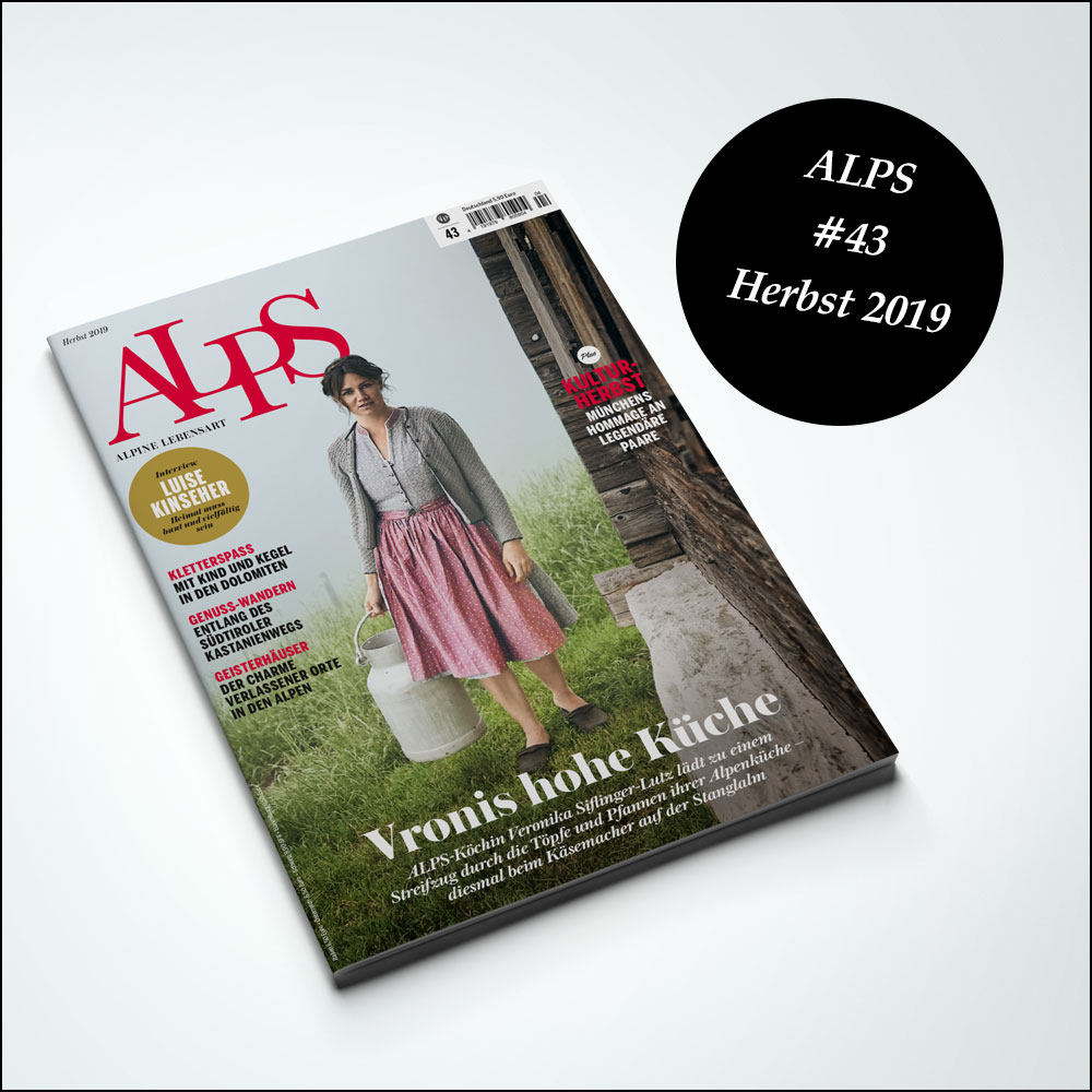 Alps Magazin Cover #43 Herbst 2019