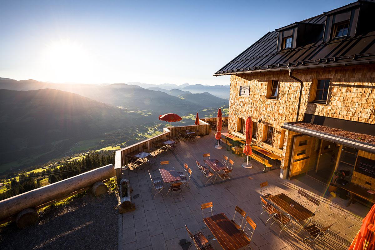 Hüttenübernachtung im Brixental
