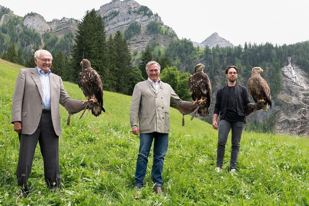 Alpine Eagle Chopard. Karl, Karl-Friderich & Karl-Fritz Scheufele
