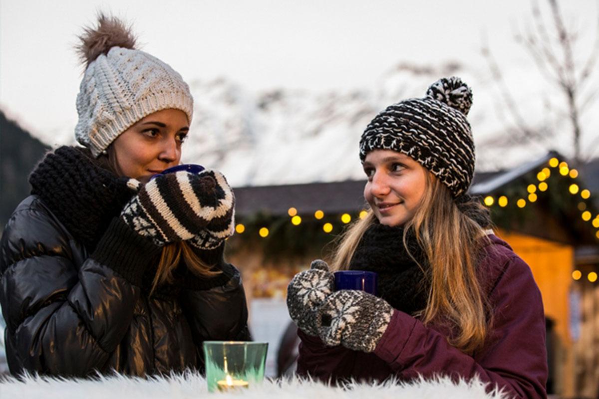 Christkindlmarkt 'Winterwundertal' in Feichten im Kaunertal