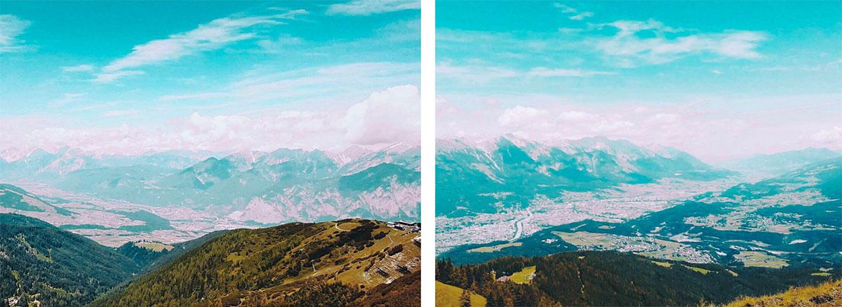 Innsbrucktrek Inntal Impressionen