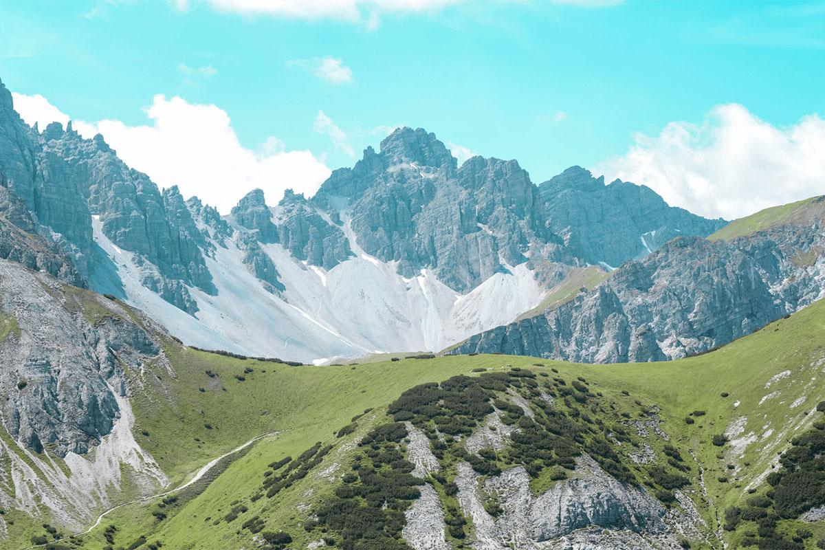 Innsbrucktrek Kalkkoegel Blick