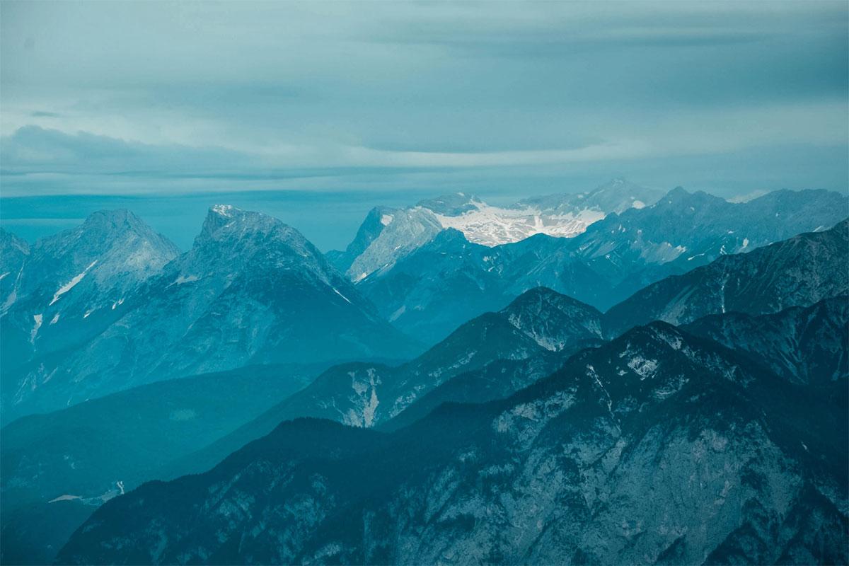 Innsbrucktrek Zugspitze Blick
