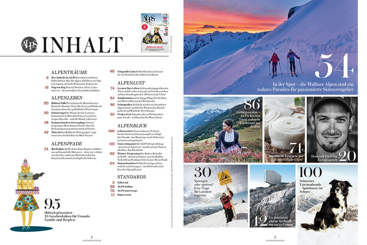 ALPS #44 / Winter 2019 Inhalt