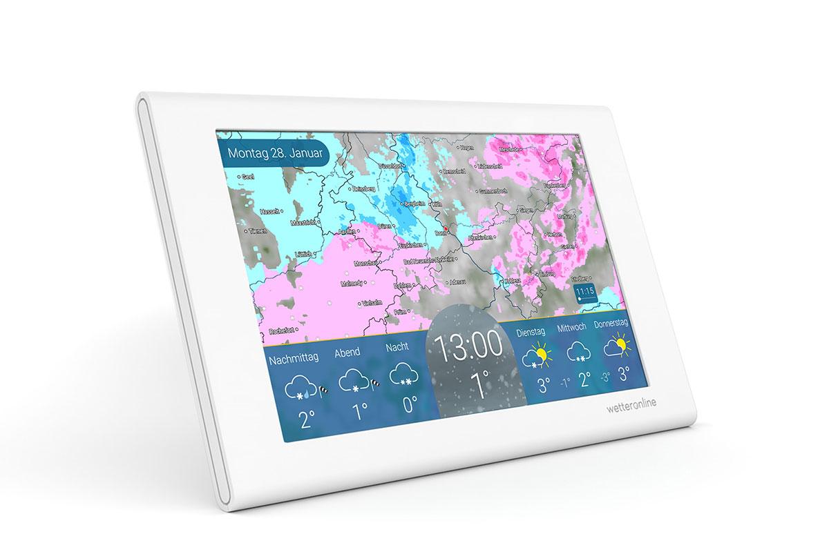 wetteronline home, die neue WLAN Wetterstation für zu Hause, verschafft immer einen Überblick über das tagesaktuelle Wetter