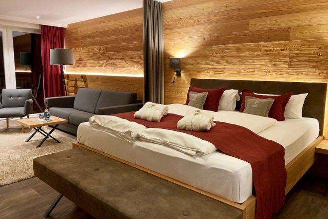 Das Hotel Outside im Nationalpark Hohe Tauern zählt sich zu den besten Wanderhotels in den Alpen