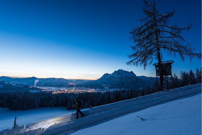 Schneeschuhwanderung St. Johann
