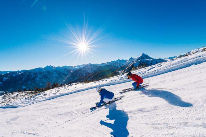Ski amadé Abfahrt