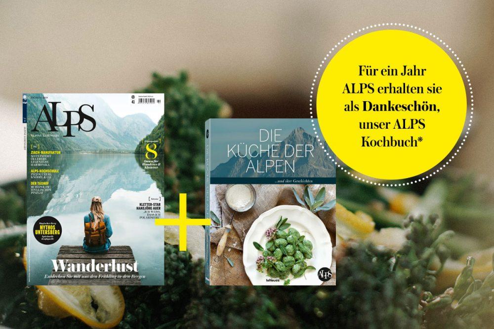 ALPS Magazin plus Kochbuch Abonnement