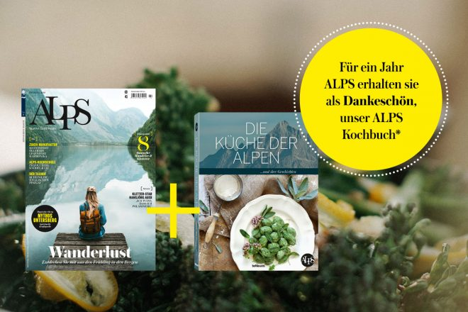 ALPS Magazin plus Kochbuch Abonnement