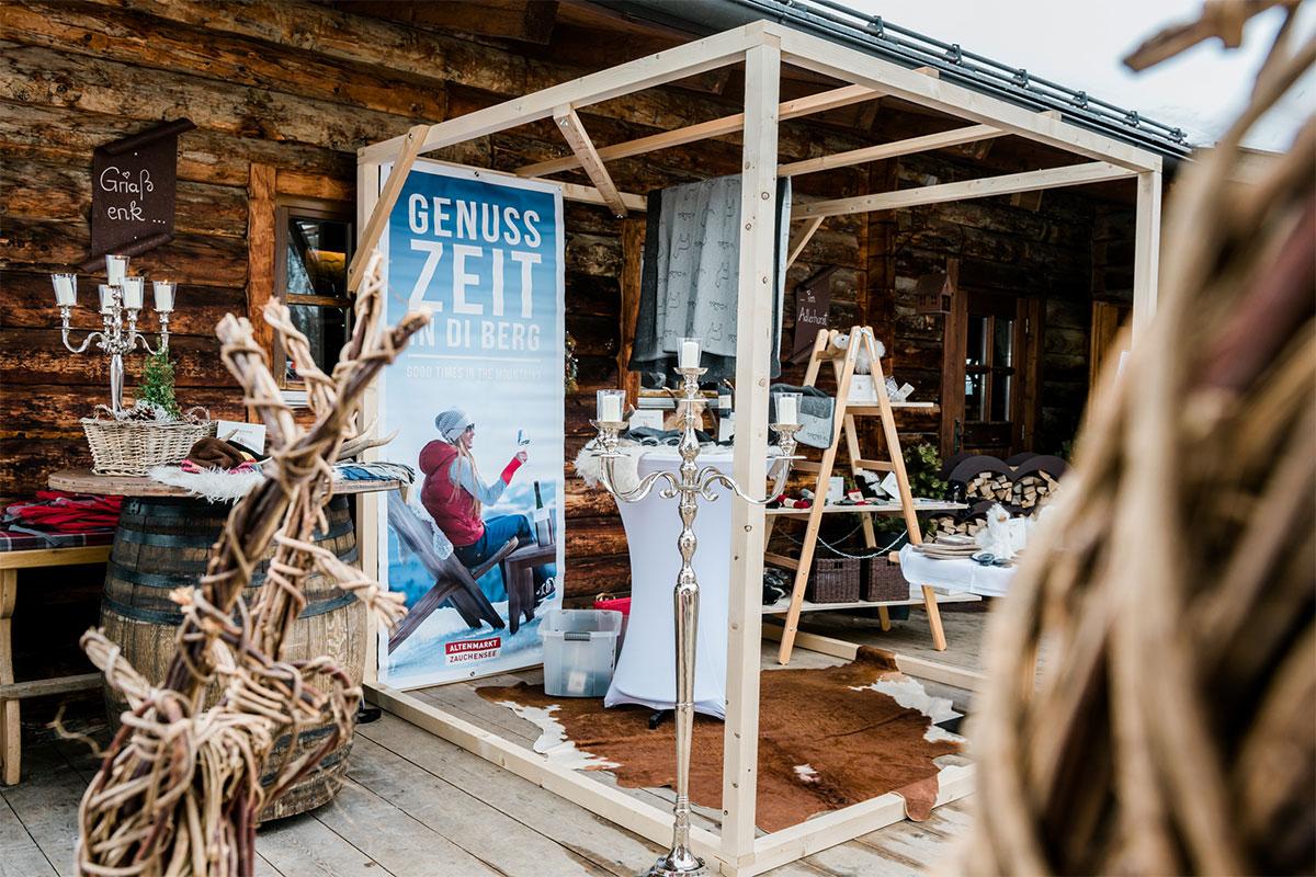 Hütten Shopping Altenmarkt-Zauchensee