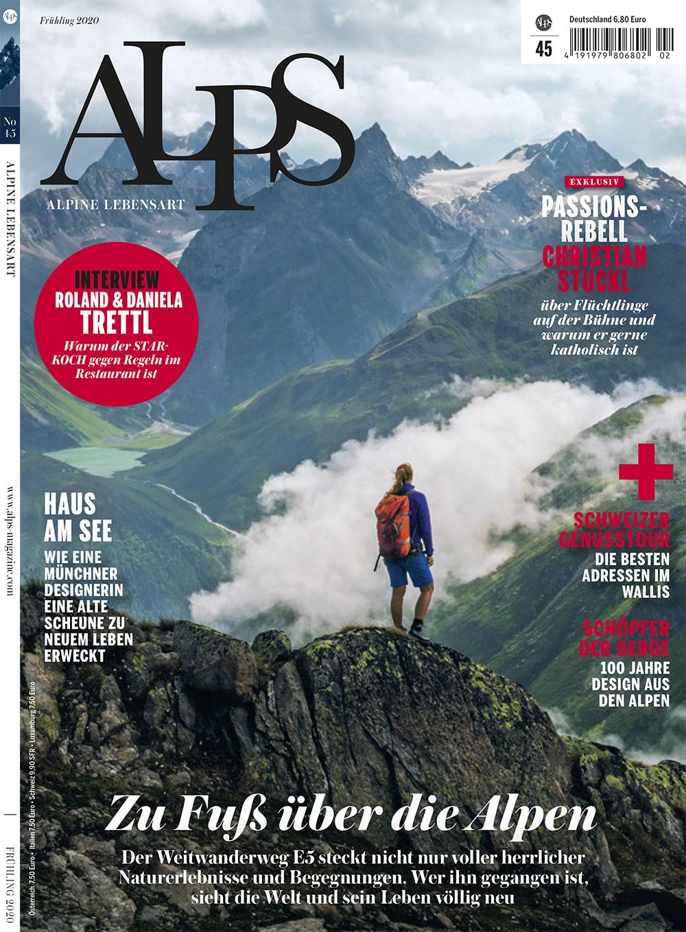 ALPS #45 / Cover Frühjahr 2020