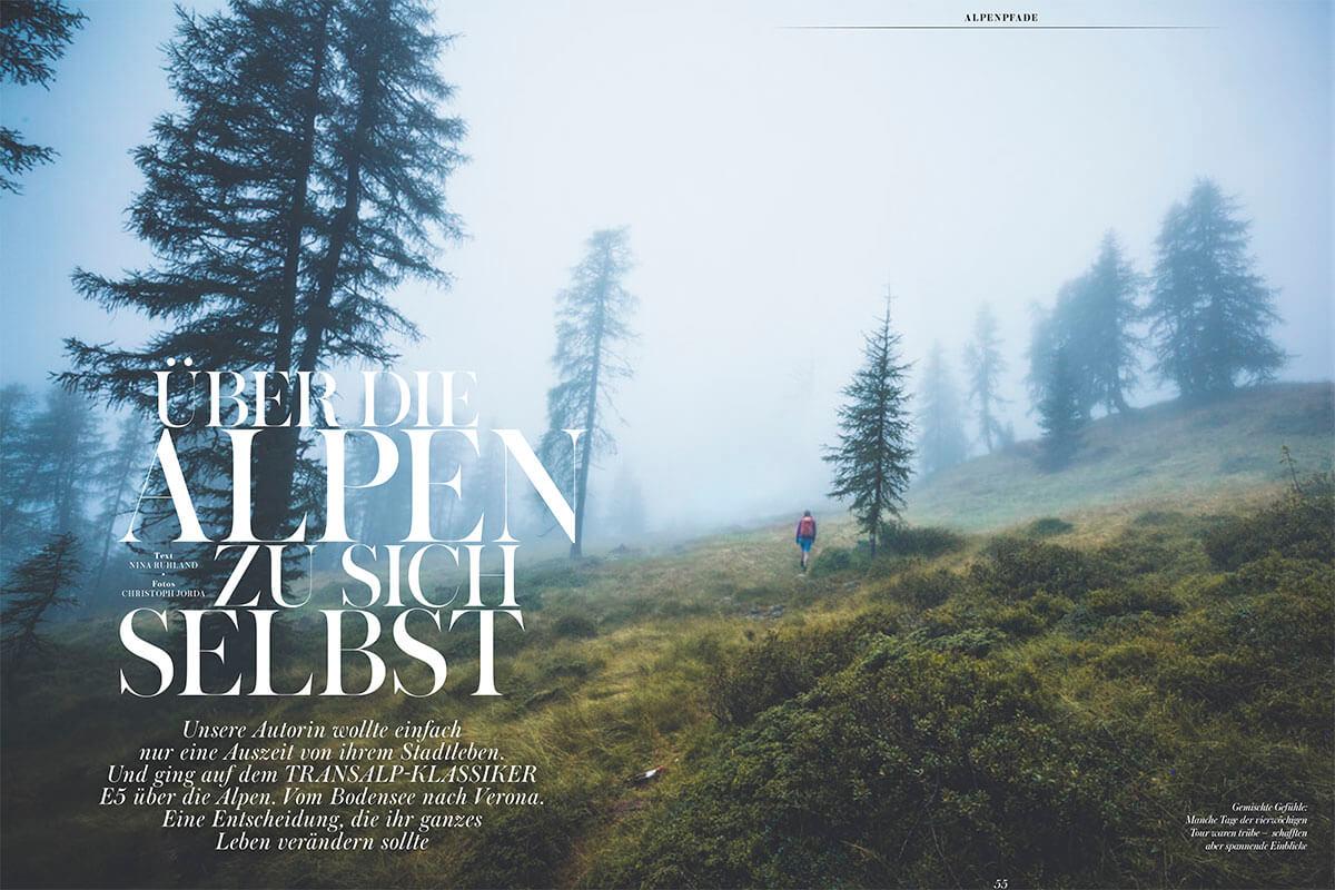 ALPS #45 / E5 Fernwanderweg Alpen
