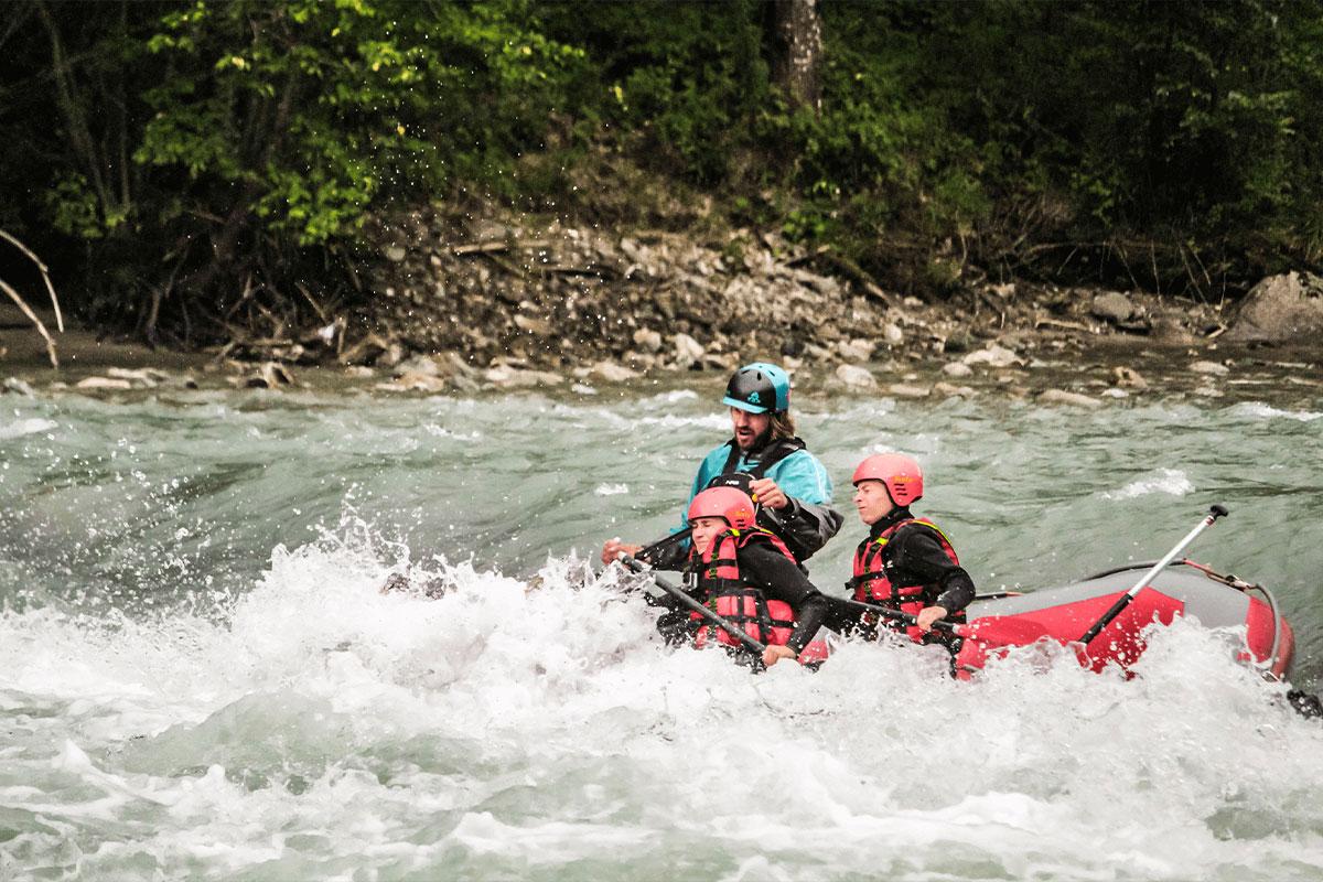 Nationalpark Hohe Tauern Rafting Isel