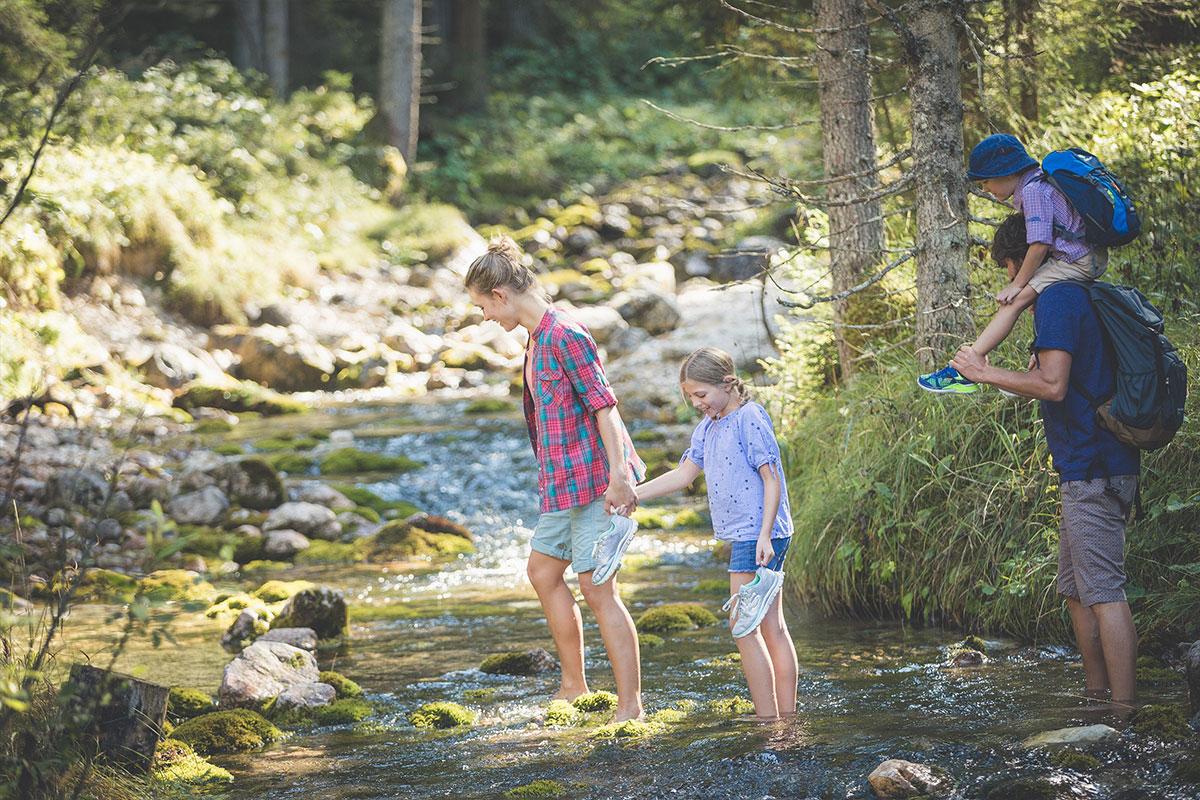 Wassererlebnisweg Ehrwald
