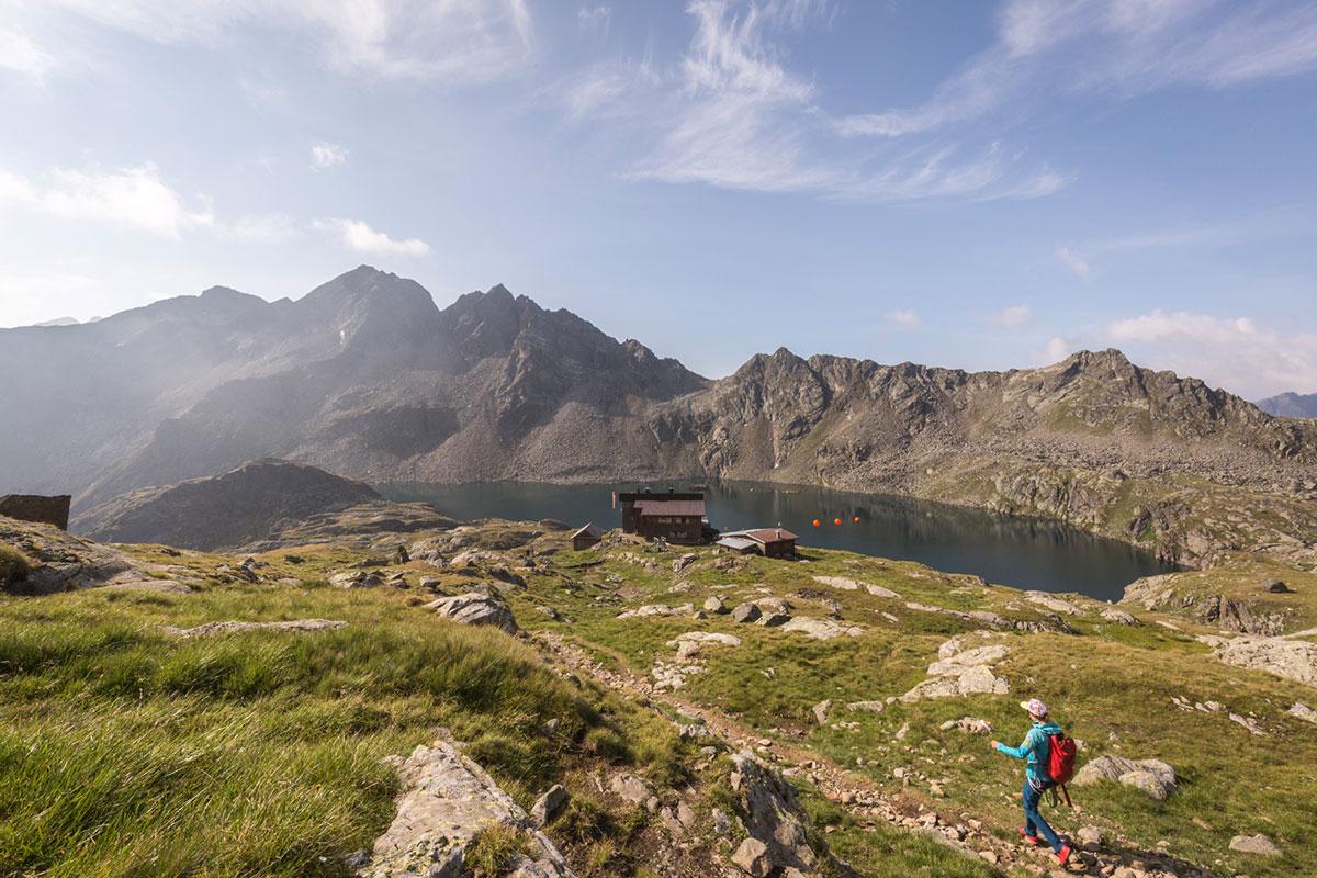 """Besonders schön: Weitwandern auf dem """"Schobertreck"""" im Nationalpark Hohe Tauern. © TVB Osttirol/Quest4Visuality"""