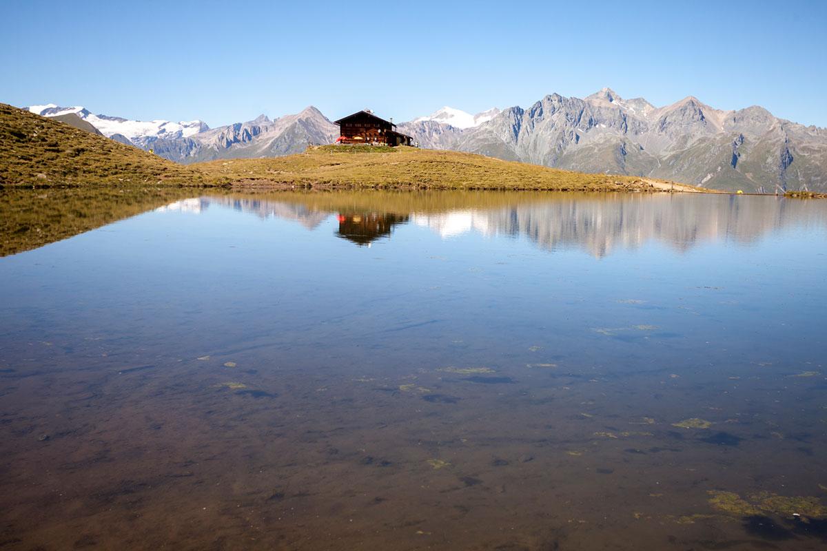 Ein natürliches Kneippbecken auf 2.000 Meter Seehöhe: der Zupalsee. © Nationalpark Hohe Tauern/Martin Lugger