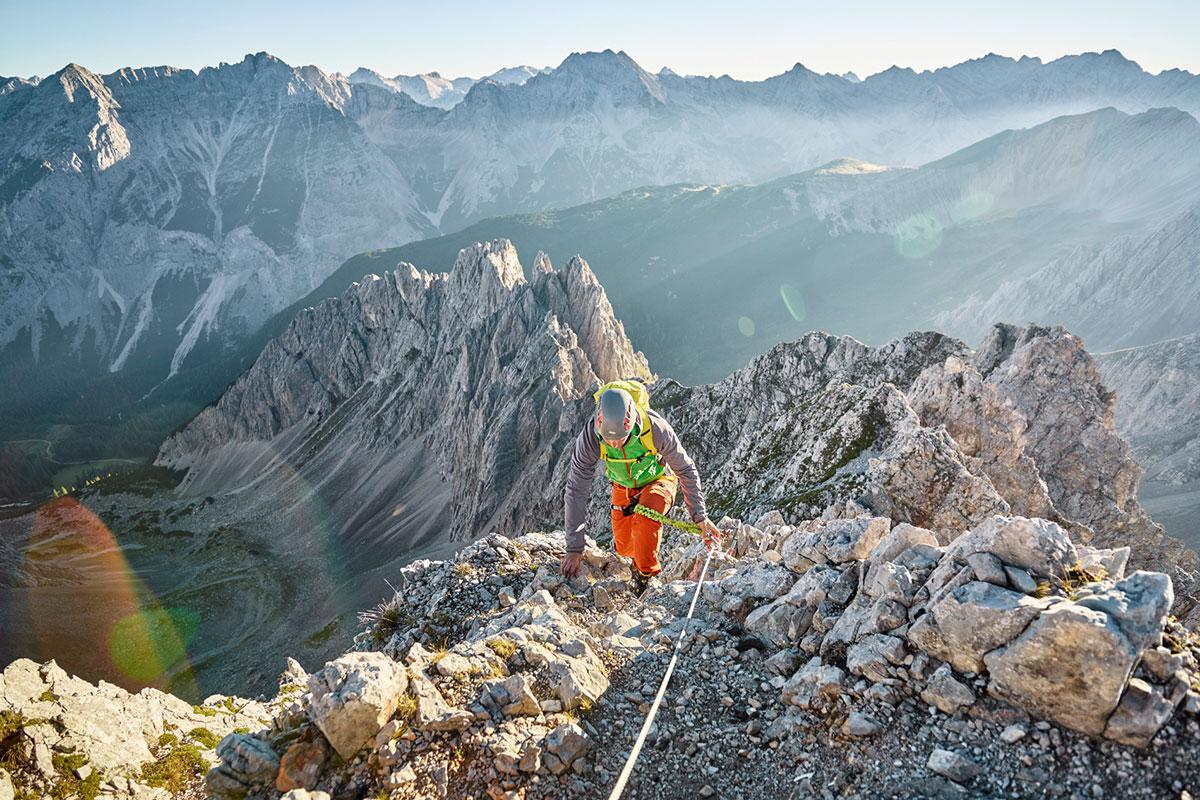 Einmal auf einem 3000er stehen - Im Sellrain mit seinen bis zu 2.000 Meter hohen Startpunkten locken einige einfache Dreitausender. © Innsbruck Tourismus/Benedikt Jörg