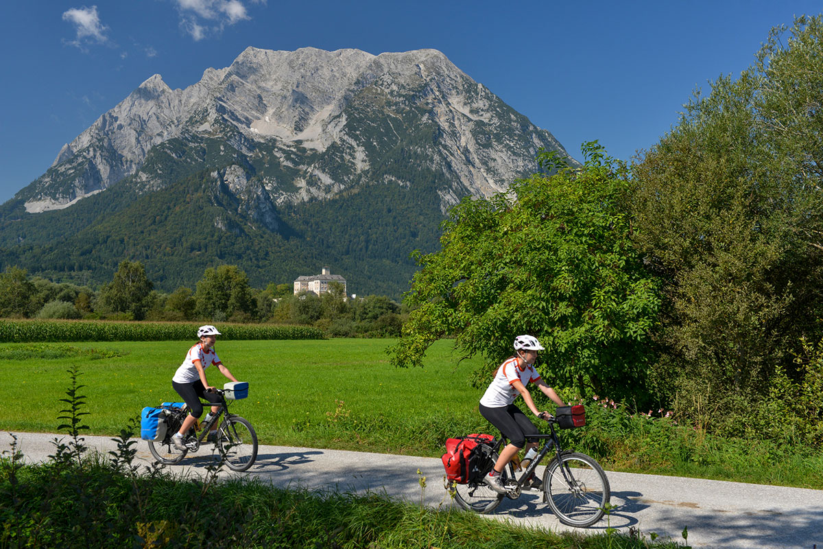 Der Ennradweg hat eine Gesamtlänge von 263 Kilometern. Foto: © Steiermark Tourismus-Thorsten Broenner