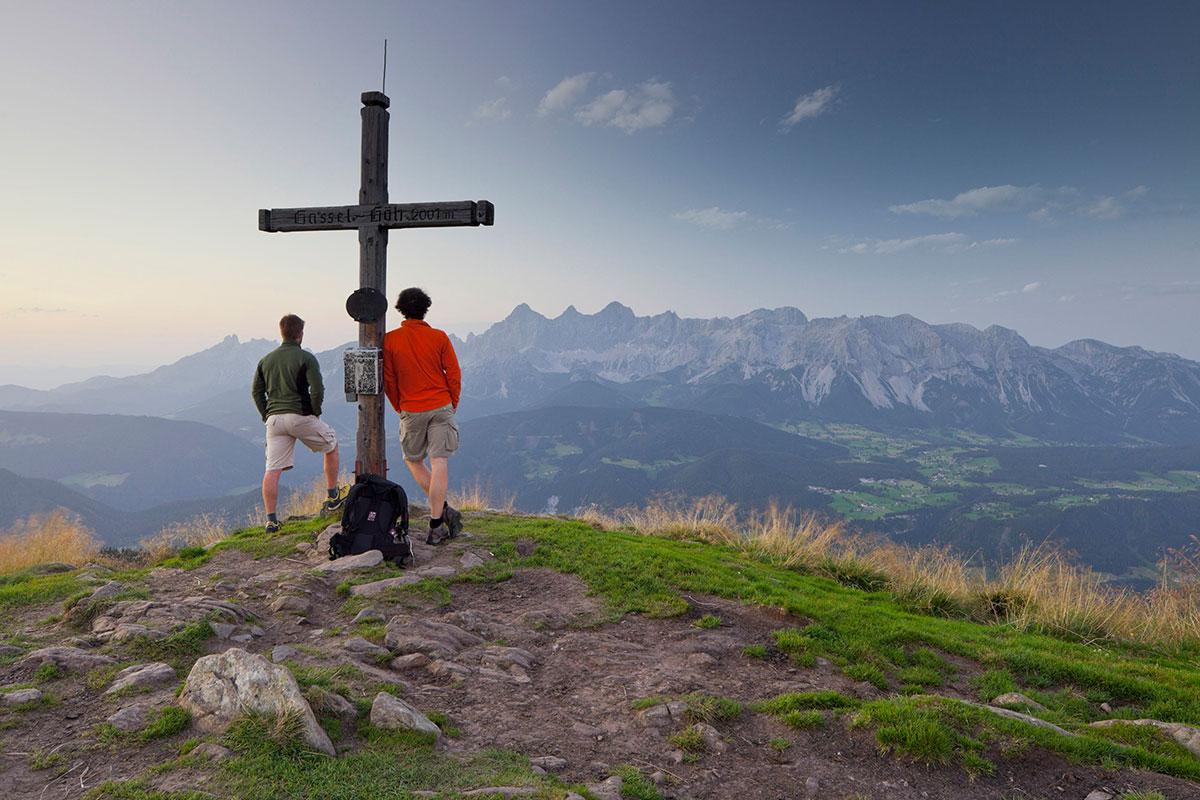 Immer die hohen Gebirge und das sich wandelnde Wasser im Blick. Foto: © Steiermark Tourismus