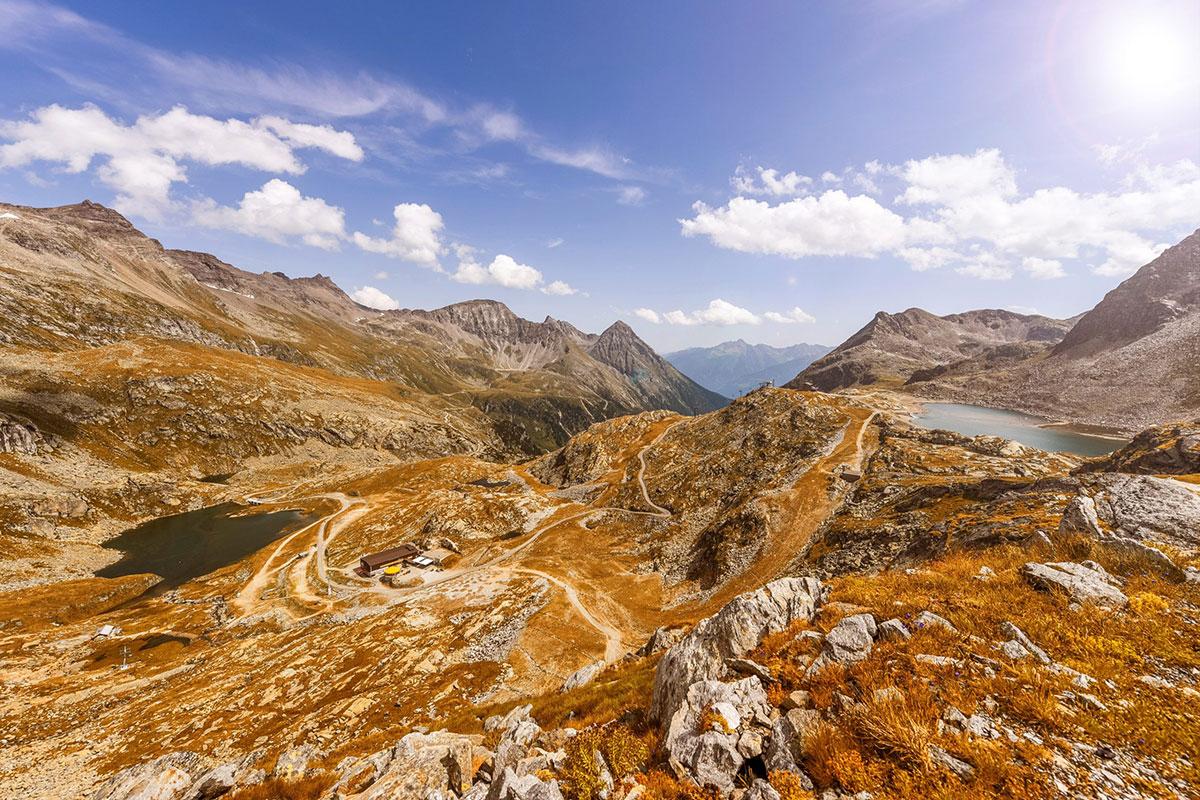 Der Mölltaler Gletscher bietet neben abwechslungsreichen Wandertouren und klaren Bergseen auch Einkehrmöglichkeiten an. Foto: © Franz Gerdl