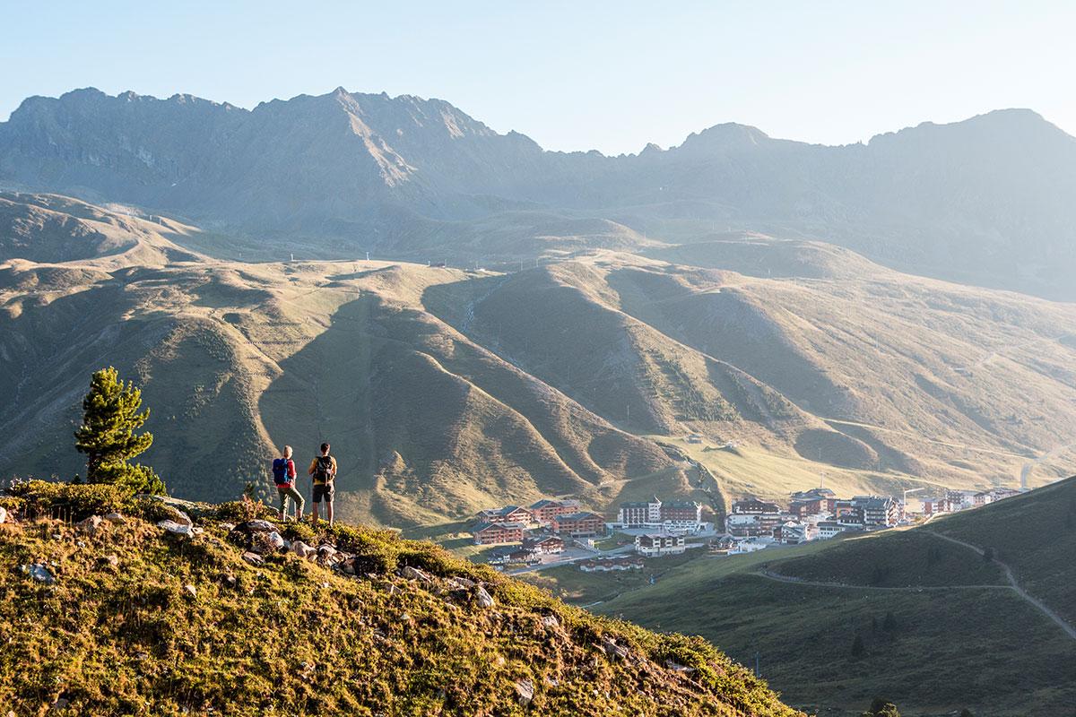 Herbstwanderung hoch über dem Kühtai (2.020 m). © Foto: Innsbruck Tourismus - Daniel Zangerl