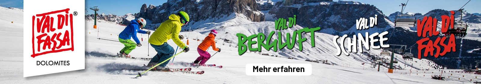Val di Fassa – Winterurlaub mit Dolce Vita